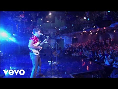 Franz Ferdinand - Right Action (Live on Letterman)