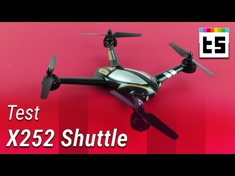 Action-Quadrocopter X252 Shuttle mit FPV-Monitor – Test