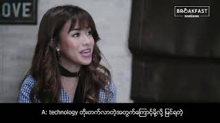 Samsung Breakfast with Htin Htin (Episode 4)