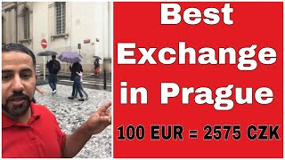 The best place to exchange currency in Prague *Subtitle*