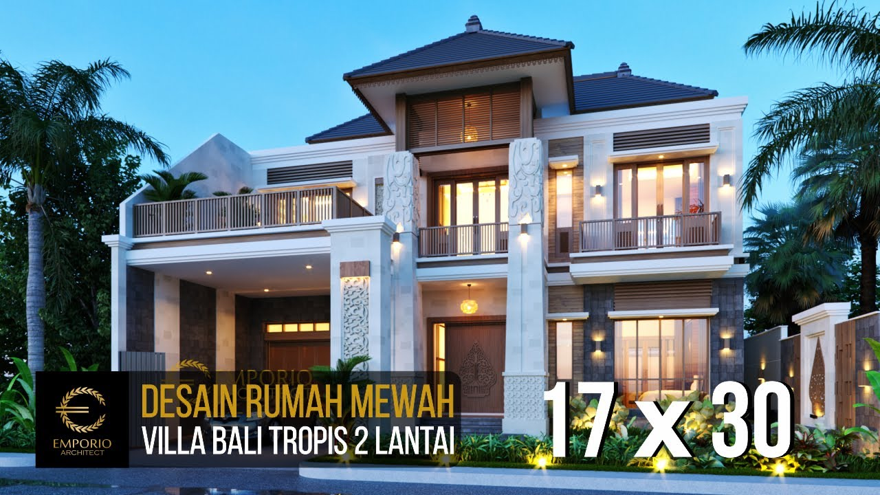 Video 3D Mr. Era Johny Villa Bali House 2 Floors Design - Surakarta, Jawa Tengah