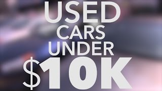 10 Best Used Cars Under $10K | Consumer Reports