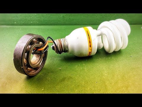 2019 free energy device for light bulb , DIY science experiment project