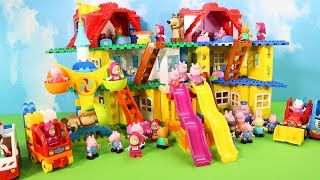 Peppa Pig Legos House Construction Sets - Lego Duplo House Creations Toys For Kids #6
