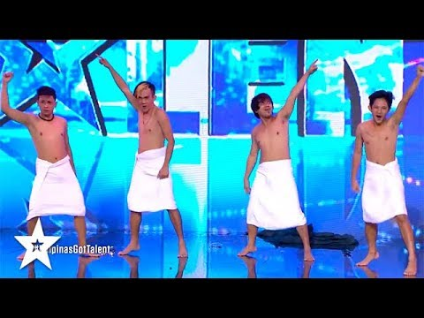 BOYS IN TOWELS on Pilipinas Got Talent 2018 | Got Talent Global ...