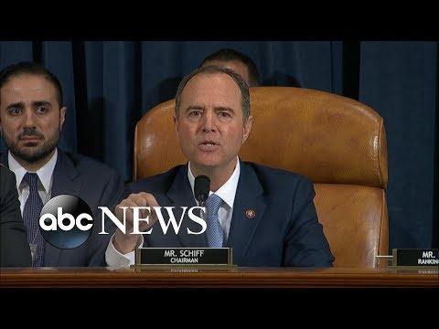 Schiff says Trump is 'unethical president' who believes he's 'above the law' | ABC News