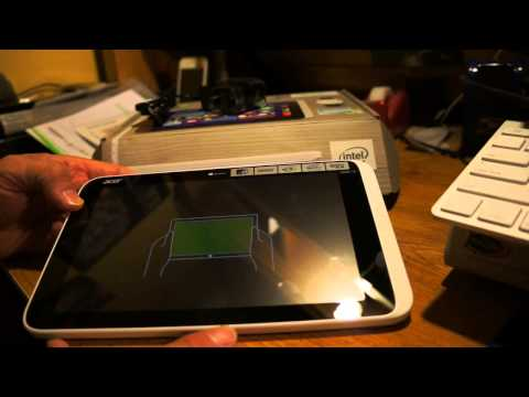 Acer Iconia W3-810 Windows 8 Unboxing Overview and testing