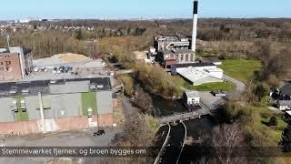 Vandløbsrestaurering af Odense Å ved Dalum Papirfabrik