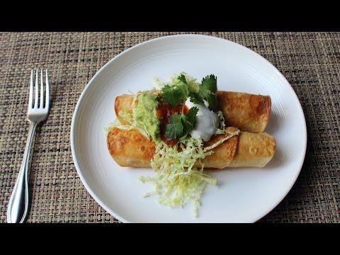 Turkey Flautas Recipe – How to Make Crispy Flautas – Thanksgiving Leftover Special!