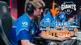 Giants Gaming desciende de la LCS