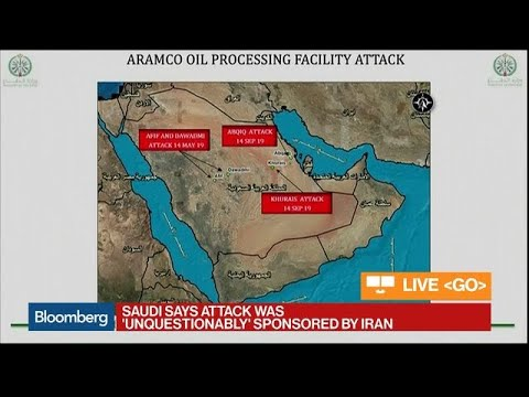 Saudi Arabia Says Oil Attacks Were Sponsored by Iran