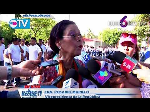 Rosario: Al ejercer el derecho al voto, estamos reafirmando el camino de paz, libertad y democracia