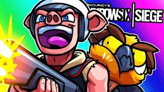 Rainbow Six Siege Funny Moments - Blasting in Like the Kool-Aid Man!