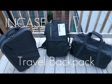 A Tech Travel Backpack? – Incase EO Travel Backpack – In-depth Review / Demo