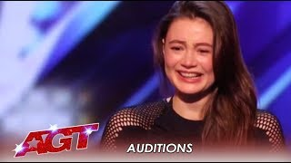 Marina Mazipa: What This Girl Can Do With Her SEXY Body Is Crazy! | America's Got Talent 2019