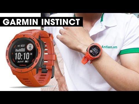 Đánh giá chi tiết Garmin Instinct l Đồng hồ chuẩn quân sự Mỹ