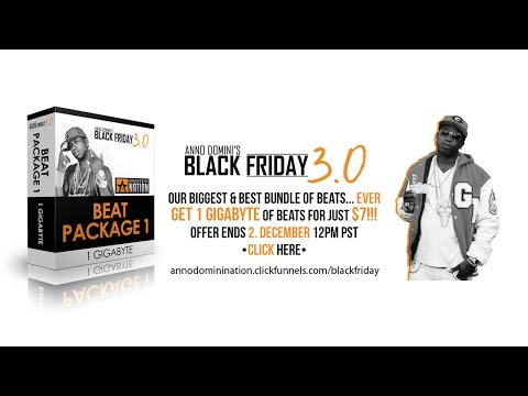 BLACK FRIDAY BEAT SALE! Get 2 Gigabytes of Beats for $7