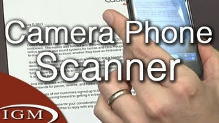 Workflow Series: Using your camera phone as a document scanner w/ Evernote (#6)