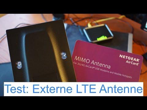 Test: Externe LTE MIMO Antenne von Netgear