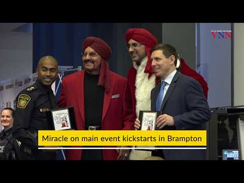 Miracle on Main Street Brampton kickstarts in Brampton by Tiger Jeet Singh Foundation