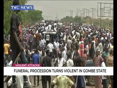 Funeral procession turns violent in Gombe