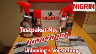 NIGRIN Testpaket No.1 für die Auto-Innenreinigung/Pflege [Unboxing&Vorstellung]