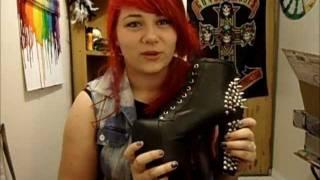 Shoe Unboxing Jeffrey Campbell Lita Spikes!
