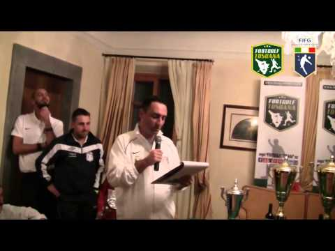 Preview video Premiazione Campionato Italiano Footgolf 2014 FIFG e 2° tappa  regions´ cup - Golf Club Le Pavoniere (Prato) 13 Dicembre 2014
