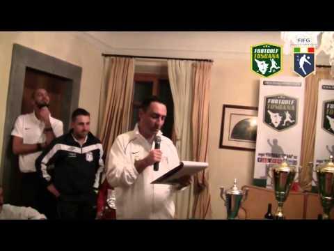 Preview video Premiazione Campionato Italiano Footgolf 2014 FIFG e 2� tappa  regions´ cup - Golf Club Le Pavoniere (Prato) 13 Dicembre 2014