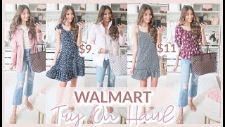 HUGE WALMART TRY ON HAUL 2020 | SUMMER + PRE-FALL OUTFITS!