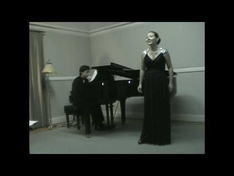 """Aria de """"Los Cuentos de Hoffmann"""" de Jacques Offenbach - Dúo de Soprano y Piano"""