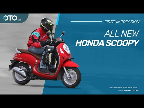 All New Honda Scoopy, The Fifth Generation Significant Transformation