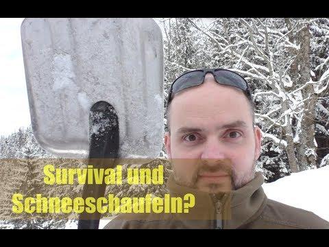 Was hat eine Schneeschaufel mit Survival zu tun?