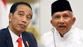 Dianggap Tak Hormati Foto Presiden saat Ceramah di Balai Kota, Amien Rais Terancam Undang-undang