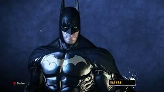 Batman Arkham Asylum - Armored Black Suit with Gold Insignia