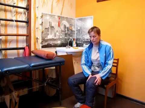 Реабилитация после травмы бедра и голени. Укладки на колено 1 / Rehabilitation after injury