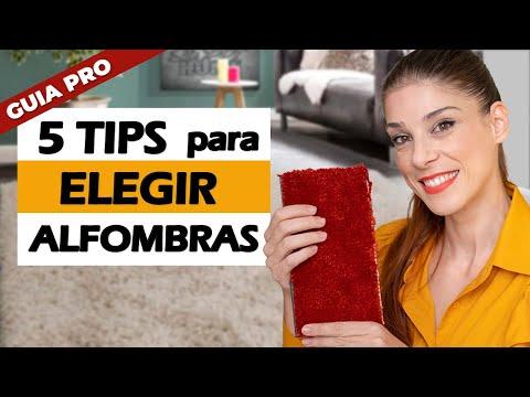 Como ELEGIR la ALFOMBRA perfecta para tu HOGAR   Decoracion de interiores  Miriam Mimesis
