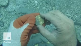 Treasure Hunter Finds $1 Million of Gold 300 Years After Shipwreck Off Florida Coast | Mashable News