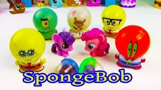MLP Pinkie Pie Twilight Sparkle Bubblehead Spongebob Squarepants Toy Review My Little Pony Fashems