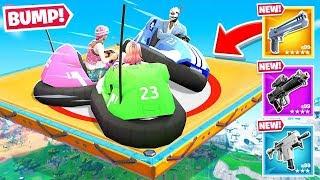 BUMPER CARS For LOOT in Fortnite!