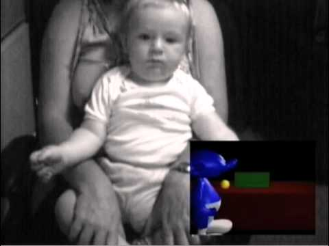 Watch This Baby Take A Smurf-Themed Cognition Test