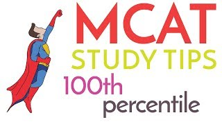 How I Scored 99.9th Percentile on the MCAT - How to Study