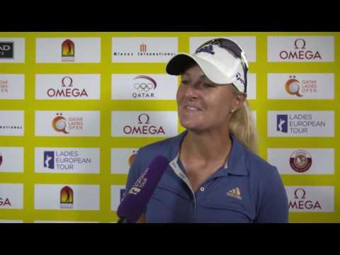 Anna Nordqvist Interview Day 1 | Qatar Ladies Open