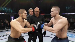 Khabib vs. Justin Gaethje - EA Sports UFC 3