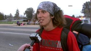 Full Interview With Kai, The Homeless Hitchhiker With A Hatchet [OFFICIAL VIDEO]