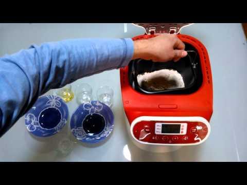 Pan integral. Utilizamos la panificadora Moulinex OW310130.