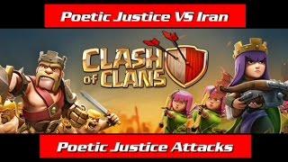 Poetic Justice VS Iran || 3 stras attacks
