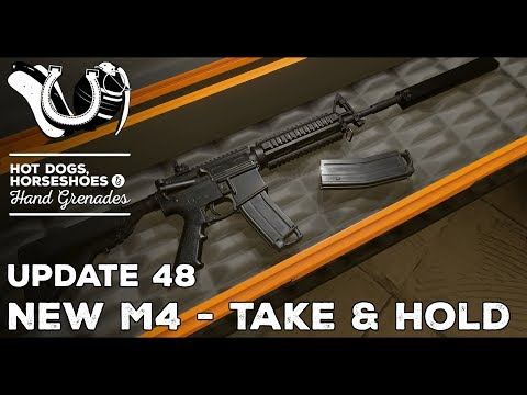 H3VR Early Access Update #48: New M4s, Take & Hold, StG44, M1/M2 Carbines, AKM Drum, and More!