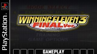 World Soccer Winning Eleven 3 - Final Ver. [PS1] Gameplay
