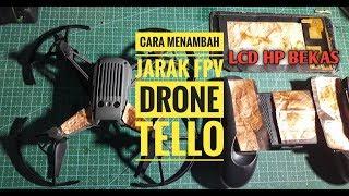 CARA MENAMBAH JARAK FPV DRONE TELLO TANPA WIFI REPEATER